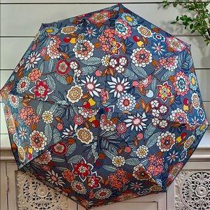 ☔Brand New Vera Bradley Umbrella Tropical Evening